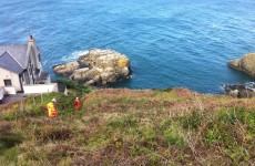Man falls from cliffs at Howth