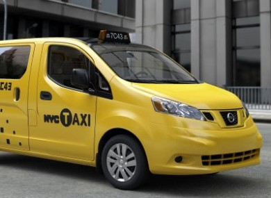 The Nissan NV200 that will supply the New York City taxi fleet for the next 10 years.