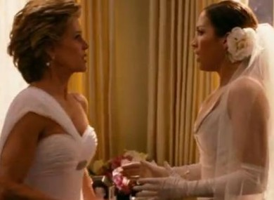 Jane Fonda and Jennifer Lopez in the 2005 movie Monster-in-Law