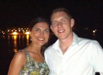 Michaela and John McAreavey, pictured on their honeymoon shortly before Michaela's death.