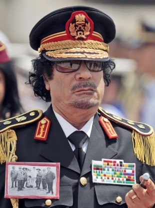 Gaddafi's son is head of the Libyan Olympic Committee.