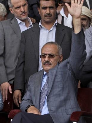 Ali Abdullah Saleh (File photo)