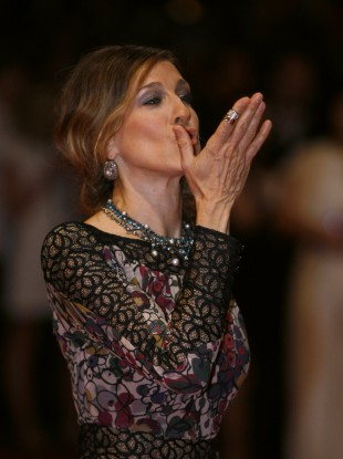 Sarah Jessica Parker at the Cannes Film Festival in May this year