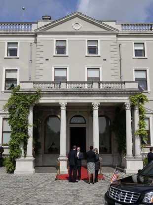 Farmleigh House, the site of recent discussions between the Taoiseach and the US president, will today host the North-South talks.