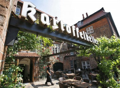 The Kartoffelkeller restaurant in Lübeck has been blamed as a potential source of the E.coli outbreak.