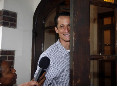 Anthony Weiner has been under pressure since the revelations of his indiscretions emerged.