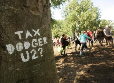 Art Uncut are already making their presence felt at Glastonbury.
