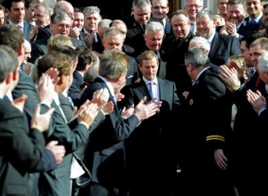 A mob of politicians: What is the collective noun for TDs?