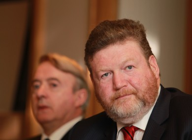 Dr James Reilly, Minister for Health