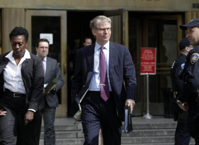 Cyrus Vance, centre, has been asked to step down