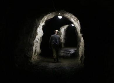 File photo of a uranium mine.