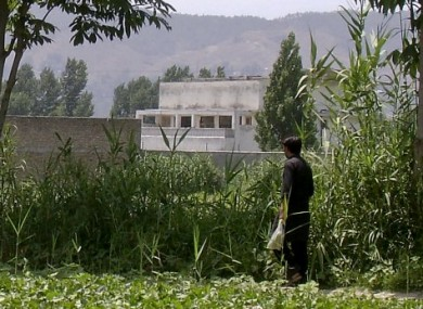 The compound in Abbottabad, Pakistan, where Bin Laden was found and killed.