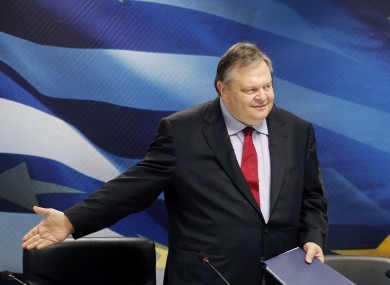 Greek finance minister Evangelos Venizelos: Greece has secured the next instalment of its first bailout, but there's no deal as yet on whether it will get a second one.