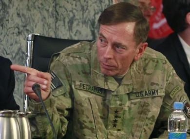 David Petraeus is off to head the CIA.
