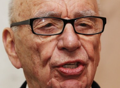 File photo of Rupert Murdoch, Chairman and CEO of News Corporation, which owns News International and the NOTW.
