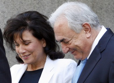 Dominique Strauss-Kahn and his wife Anne Sinclair: prosecutors are set to drop charges against DSK over an alleged sexual assault in May, the New York Post reports.