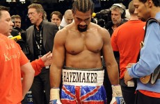 Haye pleads for second chance against Wladimir