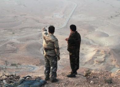 Two Libyan rebel commanders