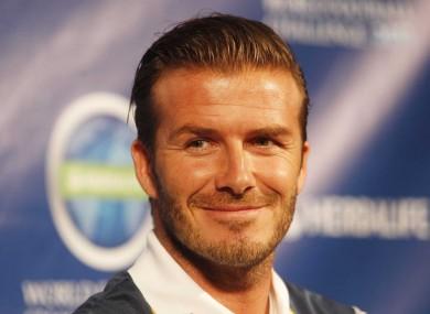 David Beckham: A spiritual fella