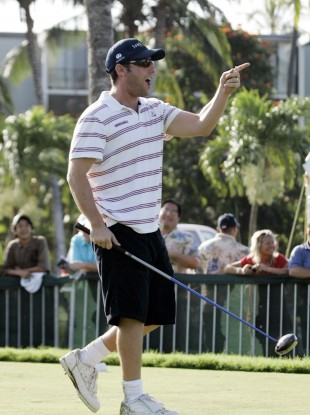 Adam Sandler plays golf in real life too, apparently.
