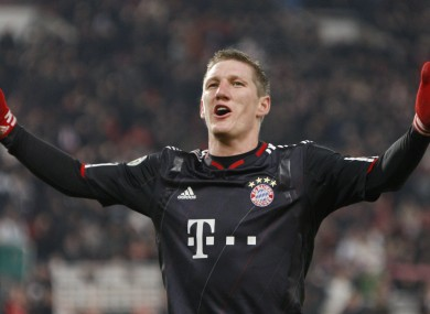 Schweinsteiger has been linked with a move to United on several occasions.