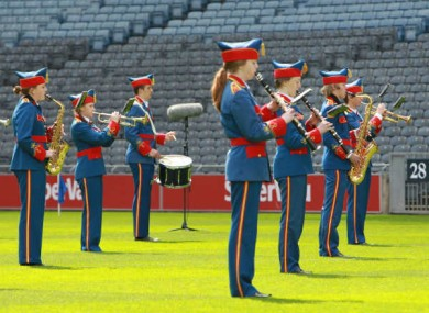 Crowds at Croke Park would be singing an alternative version of the National Anthem if Fine Gael senator Jim D'Arcy had his way.