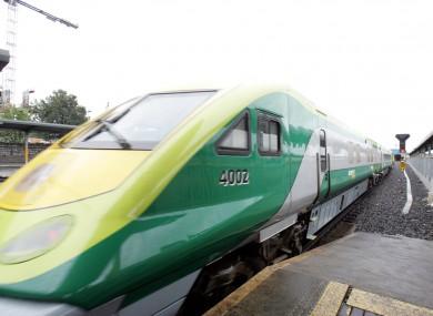 An Irish Rail train. File photo.