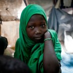 Halima Mohamed lives in an IDP camp in Mogadishu with her family. Over 1.4m Somalis are estimated to be displaced within Somalia and a further 650,000 people are refugees in neighbouring countries.