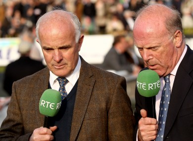 Walsh (left) was angered by Brolly's comments.