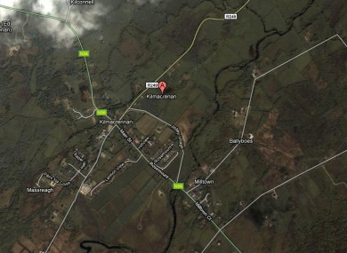 The raid took place in the Kilmacrennan area of Donegal