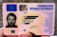 Austrian man wins three-year battle to wear pasta strainer on driving licence photo