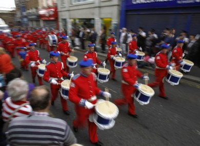 File photo of an Apprentice Boys march.
