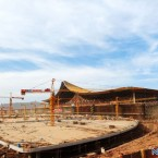 Construction underway at the new airport. (Image via Newkma.com)