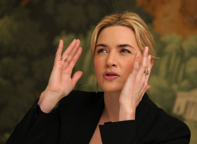 Winslet pictured in New York in March