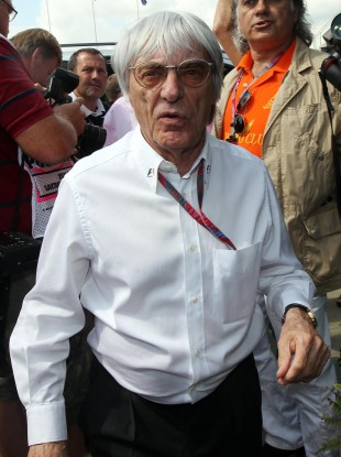Bernie Ecclestone: protest over?