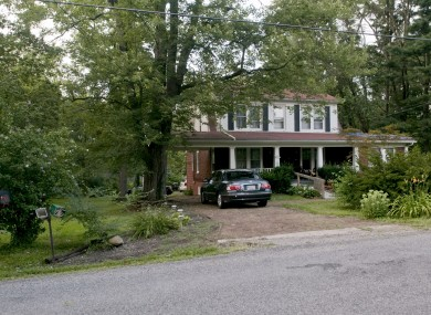 The unnamed gunman shot two people at this house in Copley Township, as part of his shooting spree that killed seven people.