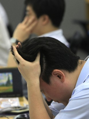 Markets also took a tumble in Asia overnight.