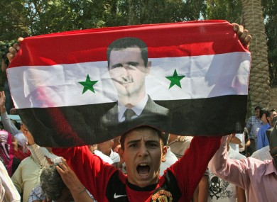 Assad retains some level of support in Syria despite mounting international pressure.