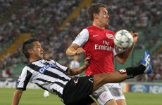 Arsenal qualify for Champions League as Nasri takes parting shot