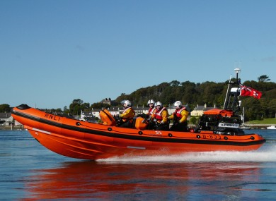 A lifeboat has been launched from Portaferry station.