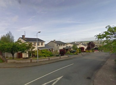 General view of the area in Carrigaline where Mr Falsey was shot