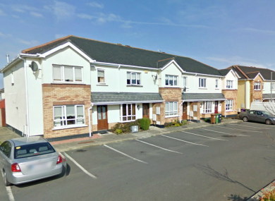 Castleford Close in Swords, where a man's body was discovered before midnight last night.