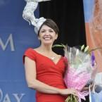 Most creative Hat winner Carol Kennelly from Tralee Photo: Sasko Lazarov/Photocall Ireland