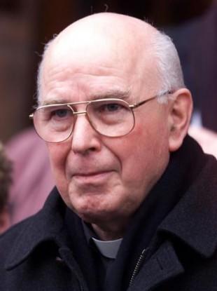 Former Bishop of Derry, Dr Edward Daly.