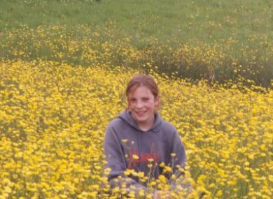 An undated photograph of 13-year-old Amanda