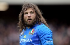 Ireland game will be 'war' says Castrogiovanni