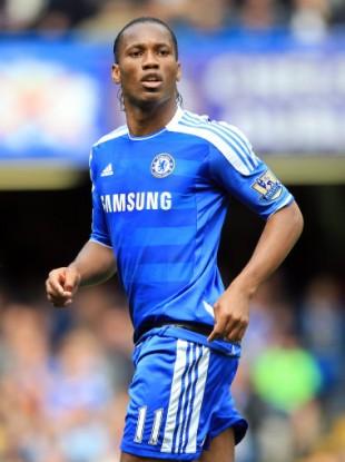 Cheslea footballer Didier Drogba.
