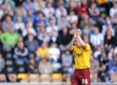Keith Treacy was on the mark on Saturday, but couldn't stop Burnley from losing away to Peterborough.