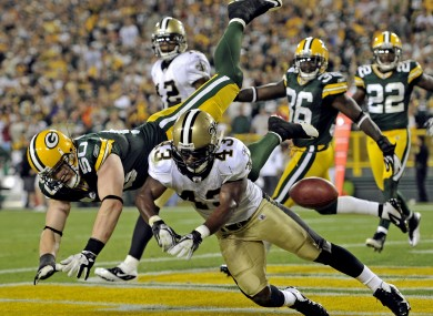 The season began yesterday with the New Orleans-Green Bay game.