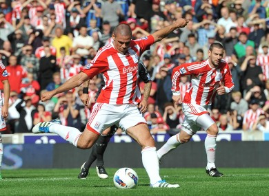 Walters scores the only goal of Stoke's win over Li